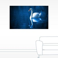 Swan on the Lake Wall Decal