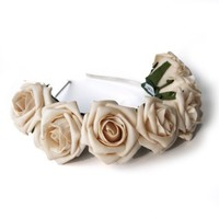 Whole Lotta Rosie Headband - By Crown & Glory