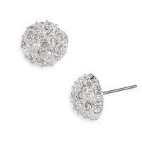 Rachel Stone Dome Stud Earrings (Juniors) | Nordstrom