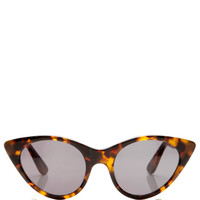 Tortoise Cat Eye Sunglasses by Opening Ceremony Now Available on Moda Operandi