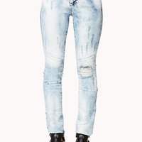 Bold Bleached Skinny Jeans