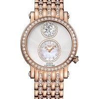 Queen Couture Pink Gold Watch