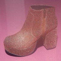Ecote Disco Platform Ankle Boot - Urban Outfitters