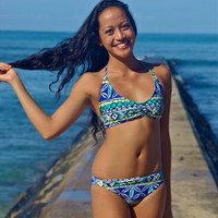 Create Your Own: Kaneohe halter bikini top