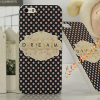 iPhone 4 Case, iPhone 4S Cover - Dream / Cases for iPhone 5, Cover for iPhone 5S