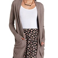SOFT SLOUCHY POCKET CARDIGAN