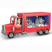 The Animated Santa's Delivery Truck