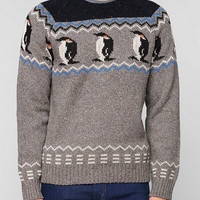 Character Hero Penguin Sweater - Urban Outfitters