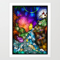 Wonderland Art Print by Mandie Manzano