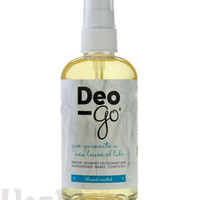 Deo-Go: Removes unsightly deodorant stains from your shirts, completely.