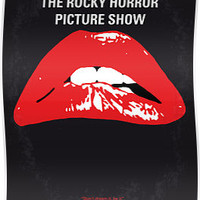 No153 My The Rocky Horror Picture Show minimal movie poster