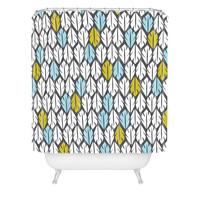 DENY Designs Home Accessories | Heather Dutton Foliar Shower Curtain
