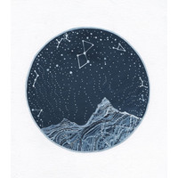 Fine Art Print-Lyra Constellation