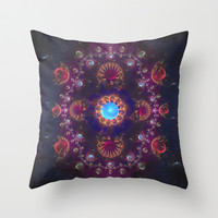 Royal  Jewels Throw Pillow by SensualPatterns
