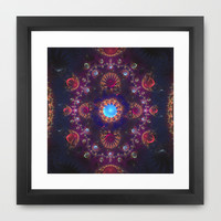 Royal  Jewels Framed Art Print by SensualPatterns
