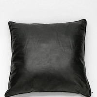 Perforated Vegan Leather Pillow - Urban Outfitters