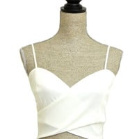 Crop Dead Gorgeous Crop Top - White - $30.00 | Daily Chic Tops | International Shipping