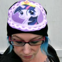 My Little Pony beanie Hat Twilight Sparkle winter Friendship is magic