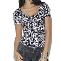 Tribal Bodysuit - WetSeal