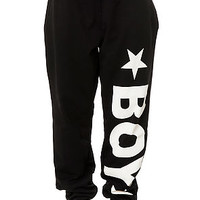 The Boy Sweatpants in Black