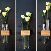 Magnetic Test Tube Flower Bud Vase