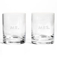 kate spade new york 'darling point' double old fashioned glasses (Set of 2) | Nordstrom