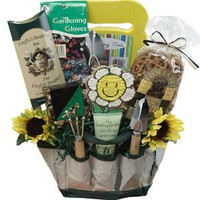 Art of Appreciation Gift Baskets Garden Lovers Gift Tote of Tools and Snack Treats