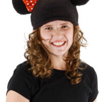 Girls Minnie Mouse Beanie - Mickey Mouse Costumes