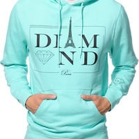 Diamond Supply Co Paris Mint Pullover Hoodie