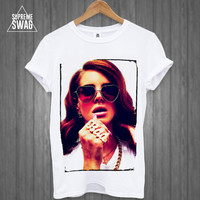 Lana Del Rey Summertime Sadness Mens supreme swag hipster t-shirt pug life FRESH Homies Lion Tiger Cross OFWGKTA dope thug See Page