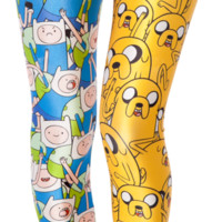 Finn and Jake Leggings | Black Milk Clothing