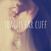 Heartbeat Tragus Ear Cuff