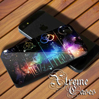 Galaxy Led Zeppelin for iphone 5/5S 5C Case,iphone 4/4s Case, Samsung Galaxy s3 I9300, s4 I9500 Case.