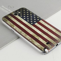 Samsung Galaxy Note 2 Case,Samsung Galaxy Note 2 Cover - US Flag / Cases for Samsung Galaxy Note 3, Cover for Samsung Galaxy Note 3
