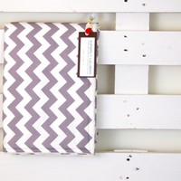 Supermarket: the chic-chevron baby blanket. from superfly lullabies