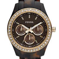 Fossil 'Stella' Multifunction Resin Watch, 37mm | Nordstrom