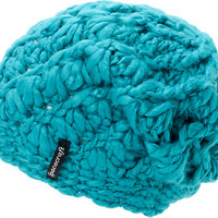 Spacecraft Girls Sophia Chunky Teal Beanie
