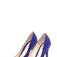 Chloe Point Toe Suedette Courts