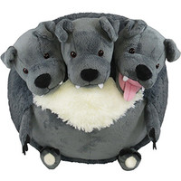 Squishable Cerberus: An Adorable Fuzzy Plush to Snurfle and Squeeze!