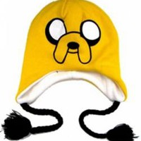 Adventure Time Beanie - Reversible Jake Finn