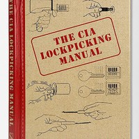 The CIA Lockpicking Manual By Central Intelligence Agency - Urban Outfitters