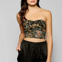 Staring At Stars Alba Embroidered Bra Top - Urban Outfitters