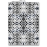 Pattern to Invoke the Qualities of Silver Card