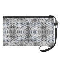 Pattern to Invoke the Qualities of Silver Wristlet Clutches