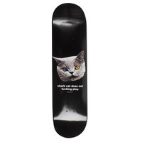 "SHARK CAT SKATEBOARD BLACK 8"" – Odd Future"