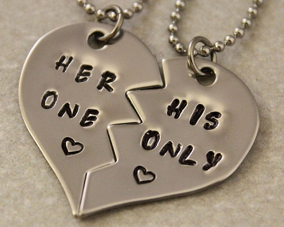 her one his only necklaces girlfriend from twentysix7