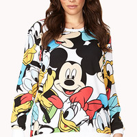 Playful Disney Character Sweatshirt