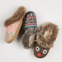 Roxy Hazelnut Slipper