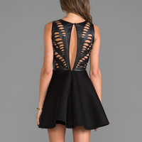 keepsake Fiction Dress in Black