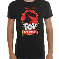 Disney Toy Story Rex Logo Slim-Fit T-Shirt